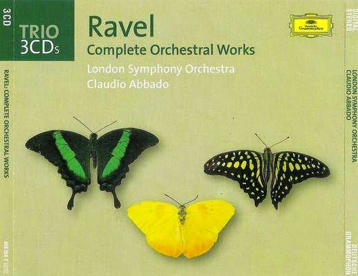 Ravel dirigé par Claudio Abbado 3 CD