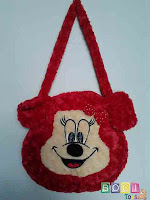 Tas Minnie Mouse Warna Merah