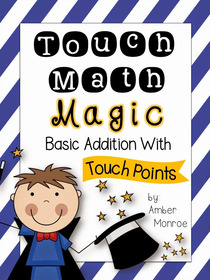math worksheet : school is a happy place getting to the point with touch math  : Touch Math Worksheet