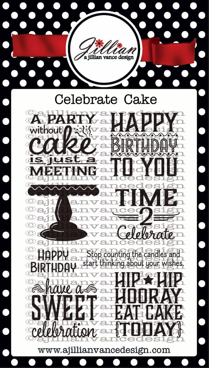 Celebrate Cake Stamps
