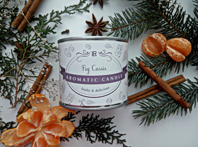 """LR Health&Beauty Aromatic Candle Парфюмированная свеча """"Инжир - Красная смородина"""""""