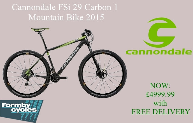 2015 Mountain Bike: Cannondale FSi 29 Carbon 1