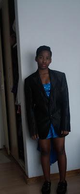glitter daiquiri, khensani mohlatlole, mens blazer, boyfriend blazer, matric dance dress, formal gown, evening wear, creepers