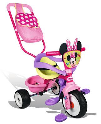 JUGUETE - BE MOVE : Confort Minnie Mouse - Triciclo Producto Oficial | Smoby 444248 | A partir de 15 meses Comprar en Amazon España