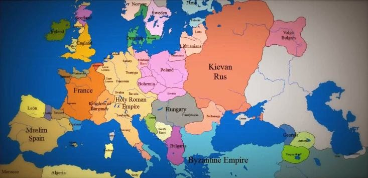 Stunning Time Lapse Map Video Shows 1000 Years Of Europe's History In 3 Minutes