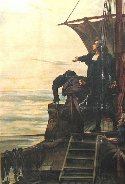 a description of the controversy of columbus day