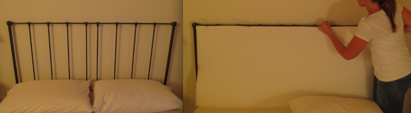 upholster a metal headboard 2