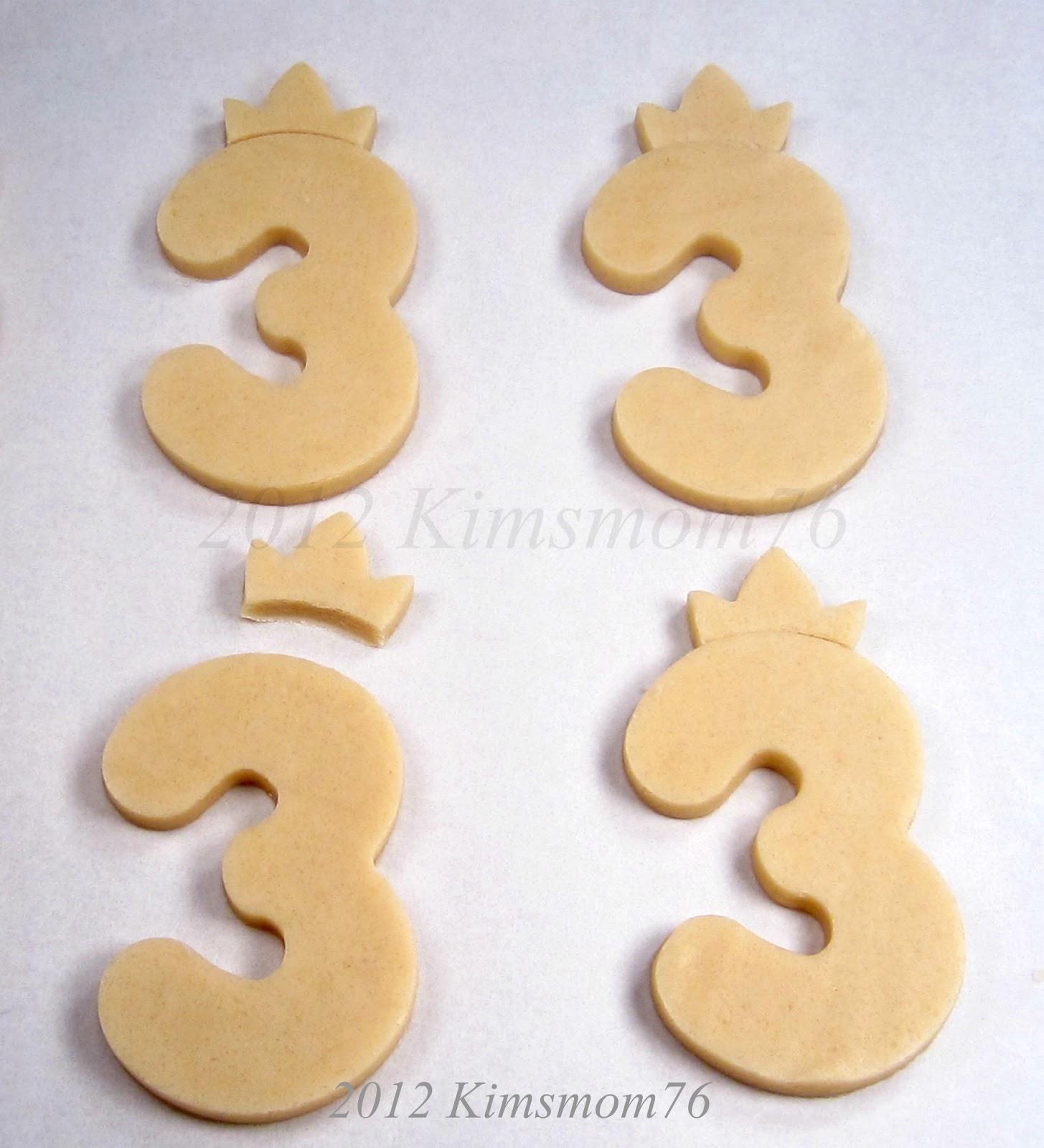 Number cookies | Etsy