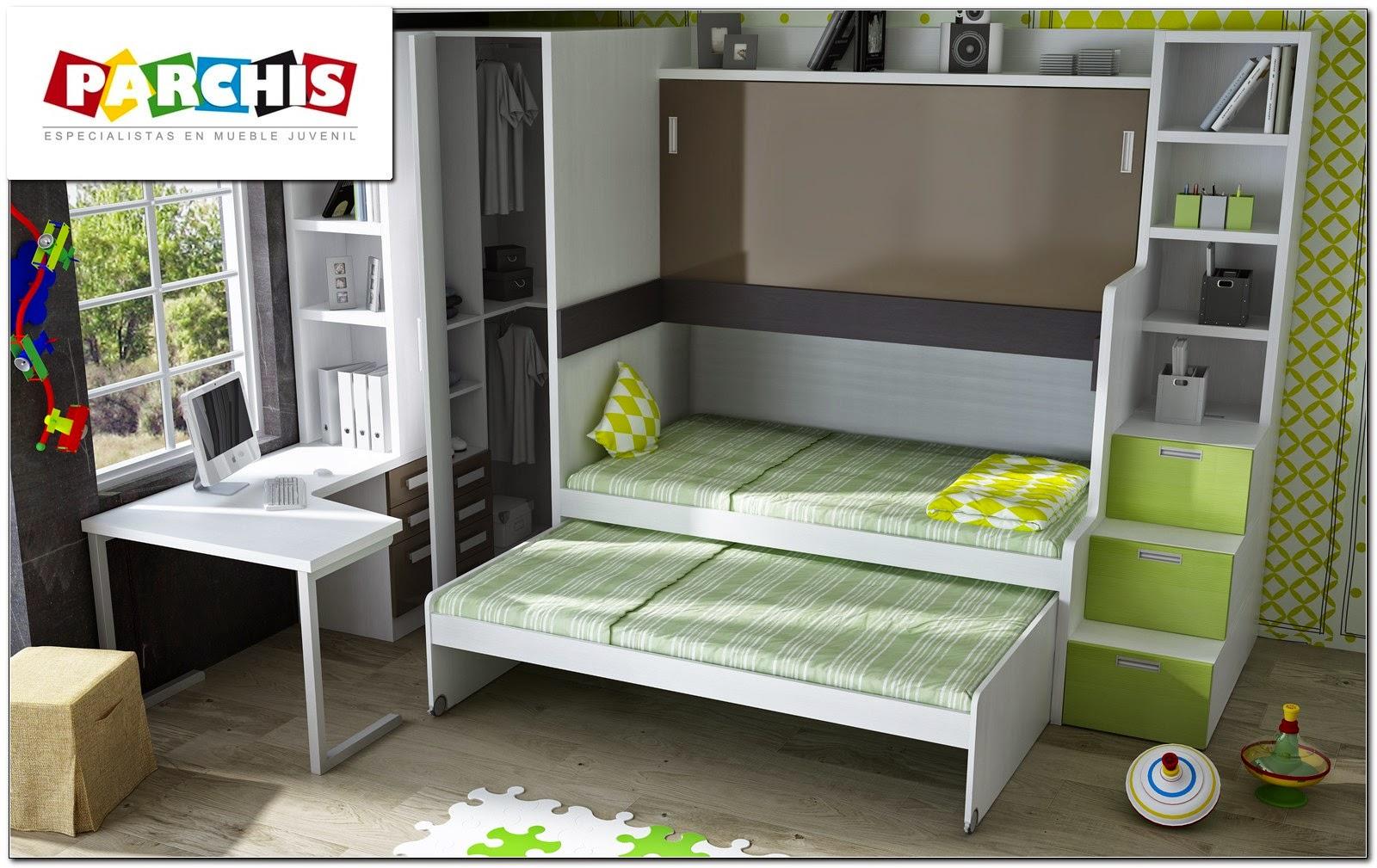 Muebles juveniles dormitorios infantiles y habitaciones for Habitacion infantil 2 camas