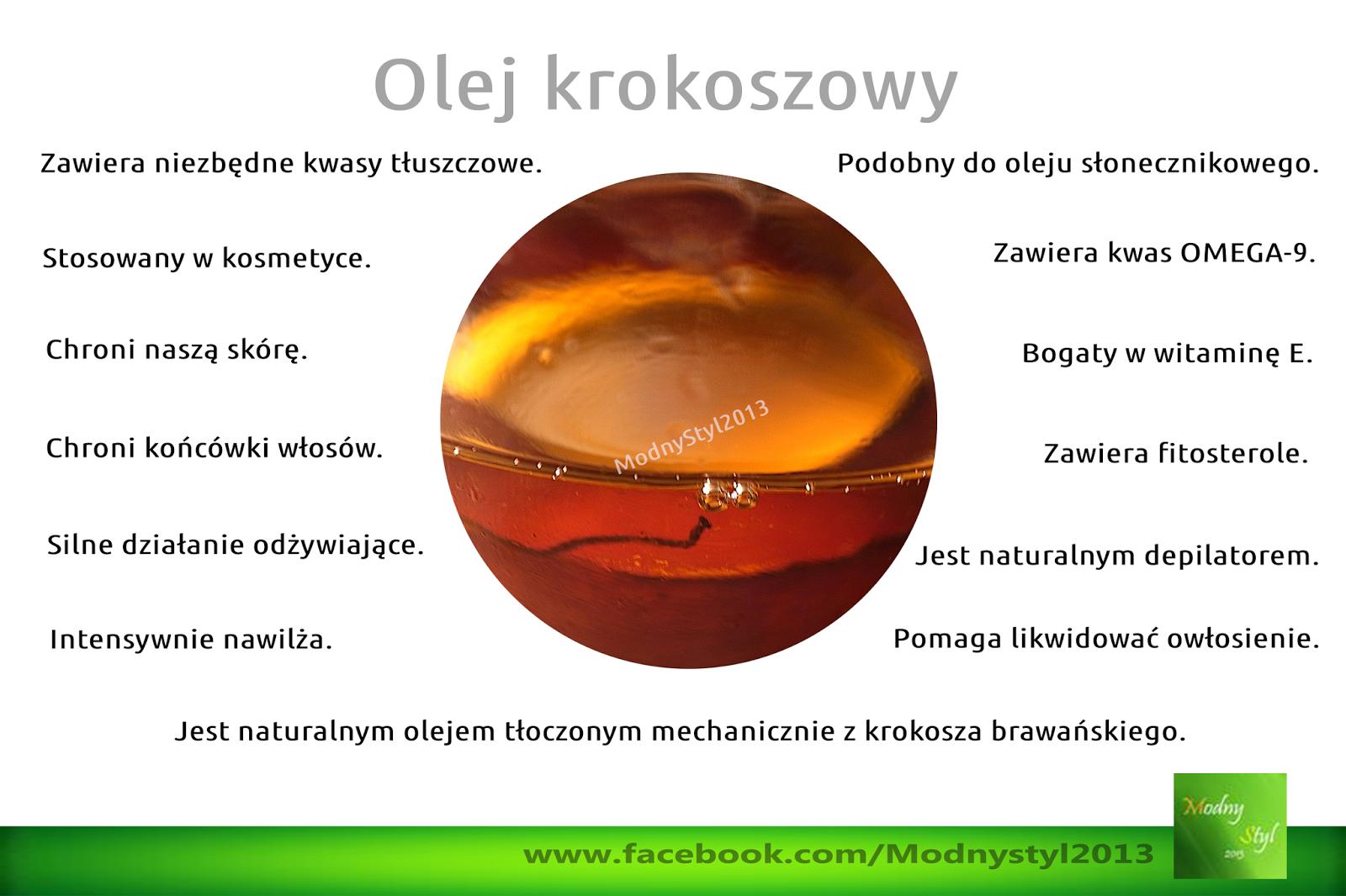 Olej krokoszowy