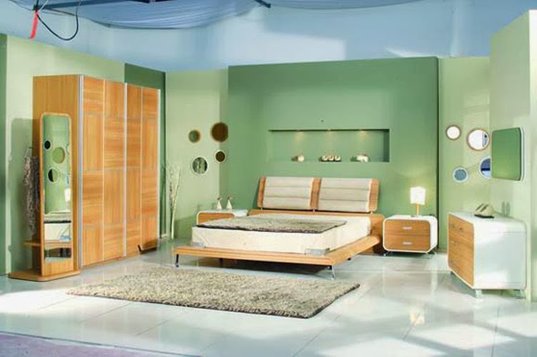 Bedroom glamor ideas green vintage bedroom glamor ideas for Retro style bedroom furniture