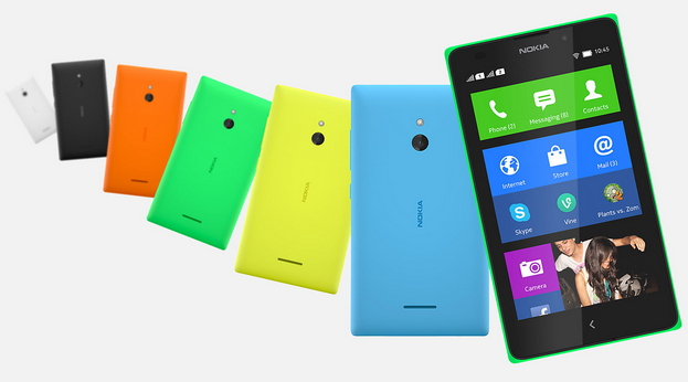 Nokia XL Dual (color variants)