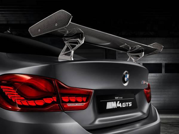 「BMW Concept M4 GTS」リアウィング画像
