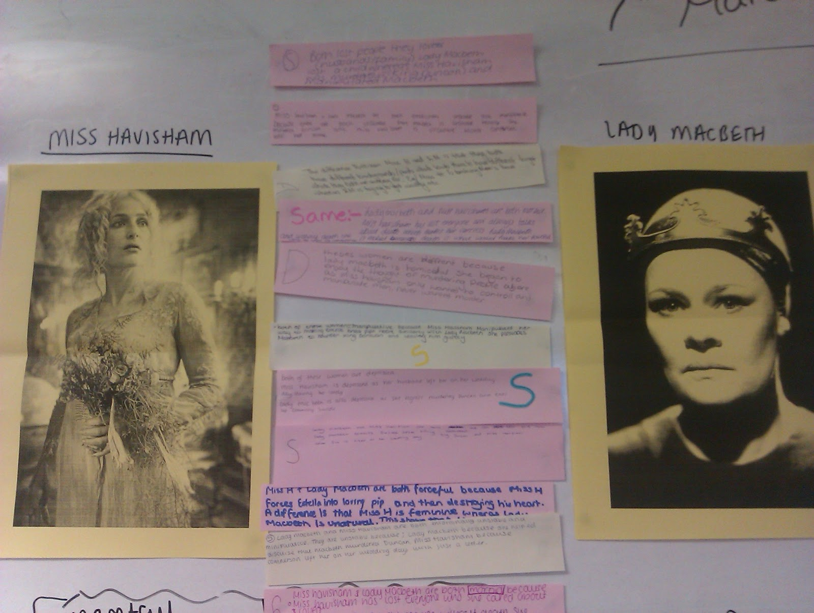 a psychological journey comparing miss havisham and lady macbeth pooled comparisons on the board