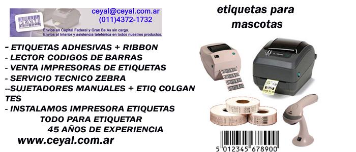 Etiquetas codigo barras Fábrica de calzado Capital Federal