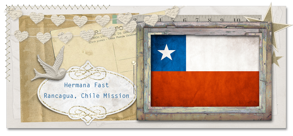 Hermana Fast's Mission Blog