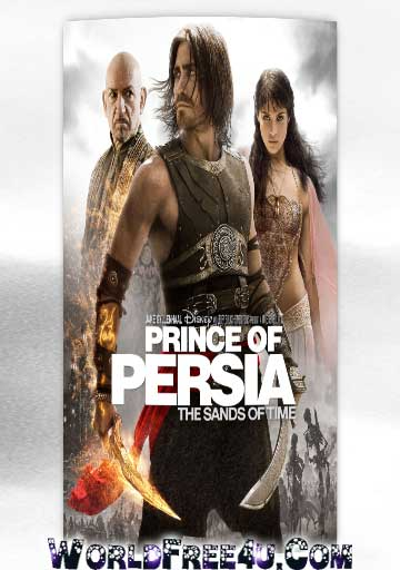 Poster Of Prince of Persia: The Sands of Time In Dual Audio Hindi English 300MB Compressed Small Size Pc Movie Free Download Only At exp3rto.com