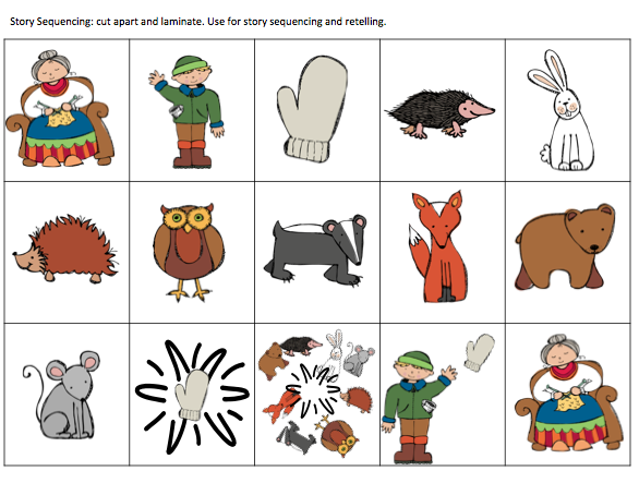 Story retelling with pictures. Cut the pictures apart and use them to ...