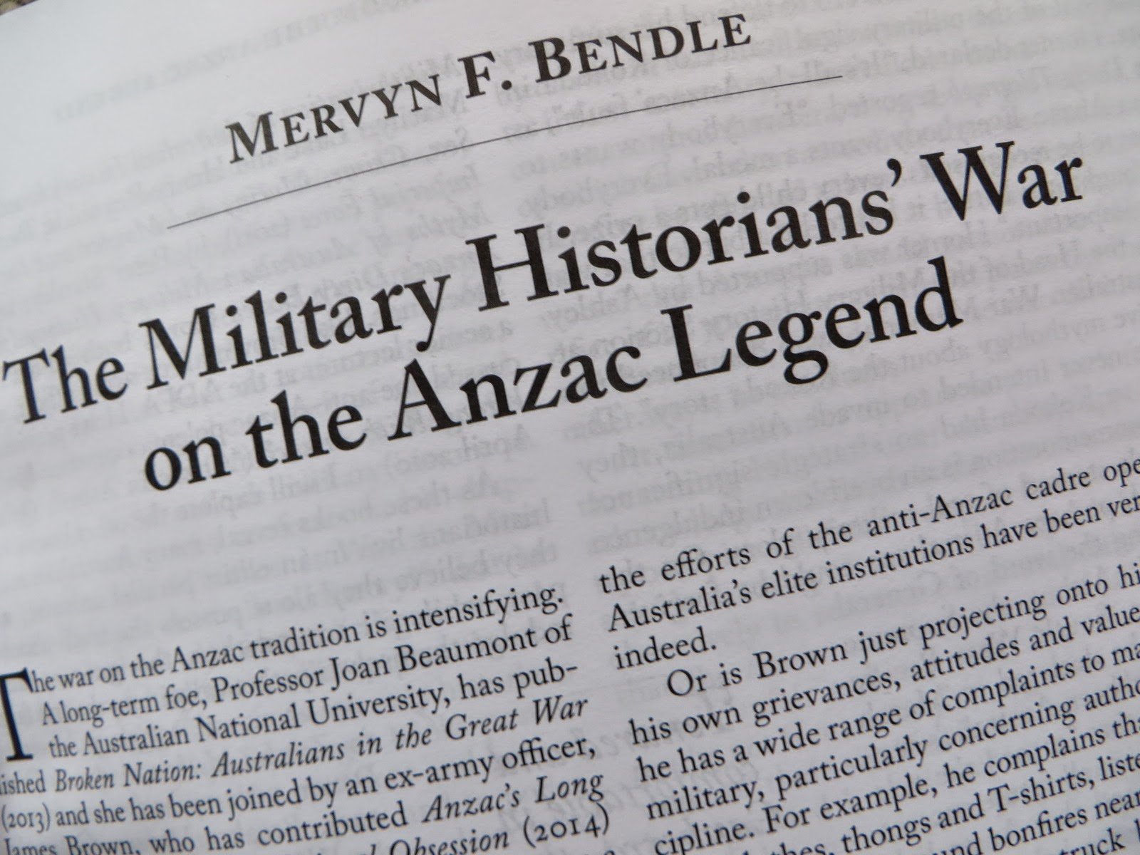 an essay on the anzac tradition The anzac tradition: honest history the anzac tradition: honest while the anzac 'legend' is important in australian history published by newsouth in time for anzac day 2017, is a collection of essays on the diverse themes that honest history members and their website.