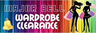 Major Bell Wardrobe Clearance