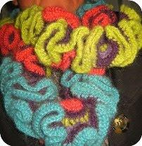 Hæklet halstørklæde DIY