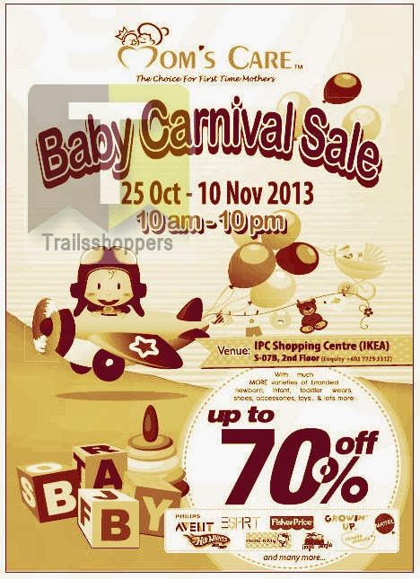 Moms Care Baby Carnival Sale 2013