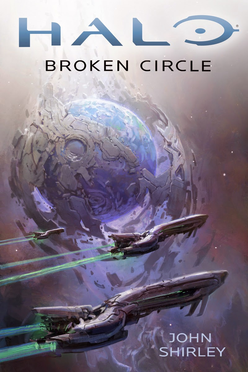 halo broken circle book cover