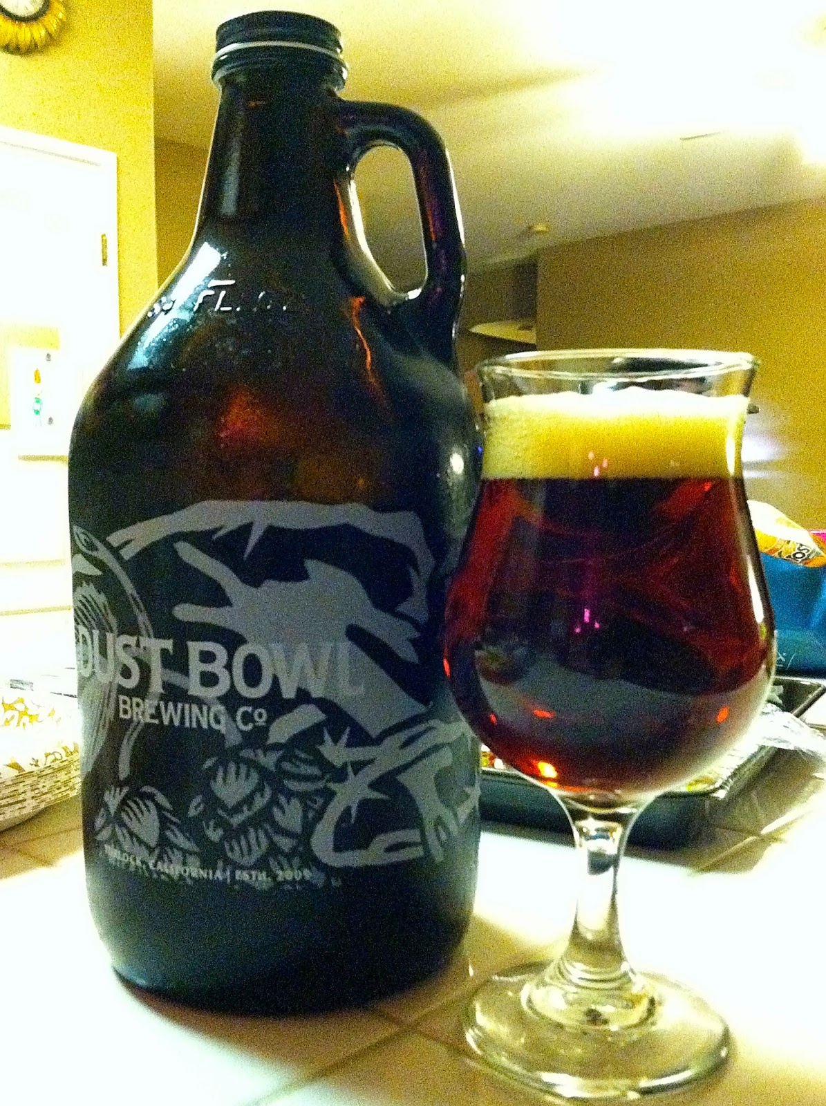 Dust Bowl Stock Ale 1
