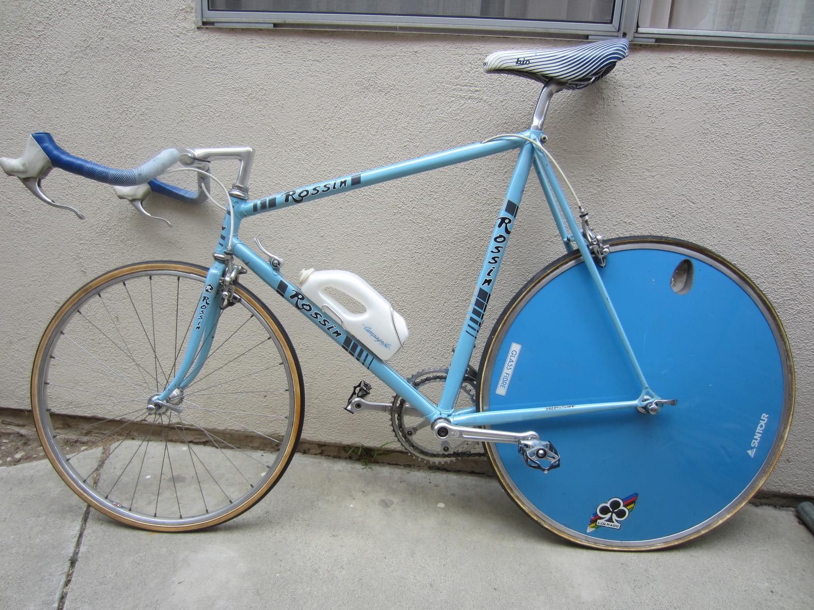 Vintage Rossin Archive 1980s Rossin Tt Bike