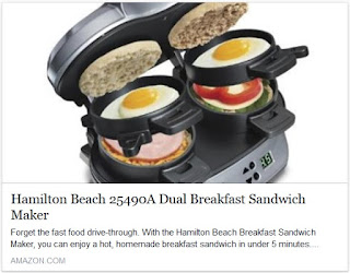 Image: Hamilton Beach 25490A Dual Breakfast Sandwich Maker