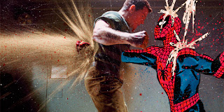 superhero comic and movie mashup spiderman
