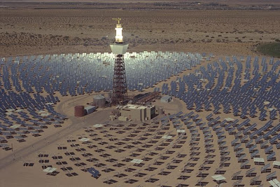 CSP Power Tower System.