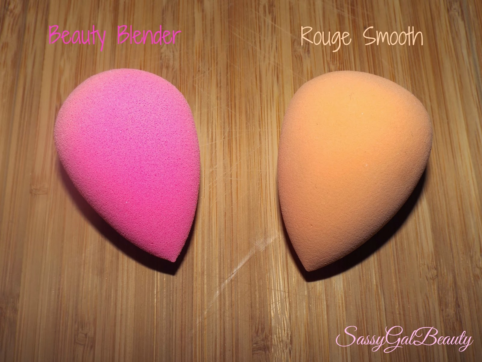 Beauty Blender VS RougeSmooth