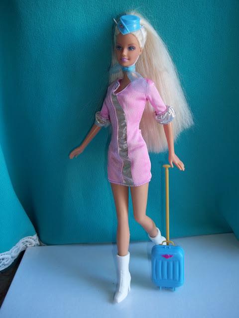 Barbie girl trucco parrucco primi restauri - Barbie senza colore ...
