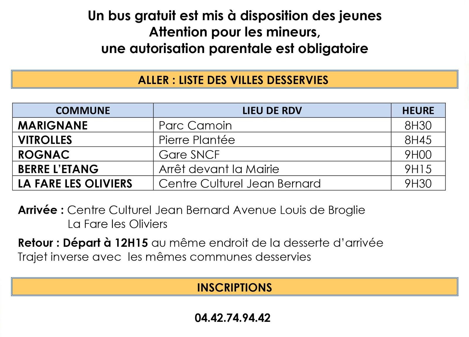 Avec le concours de la ville de la fare les oliviers et de p le emploi la manifestation sera - Pole emploi salon de provence ...