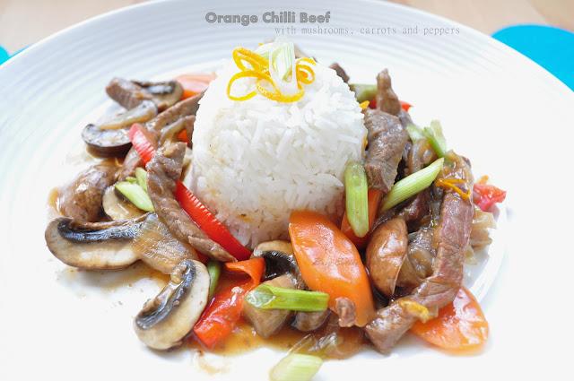 Orange Chilli Beef