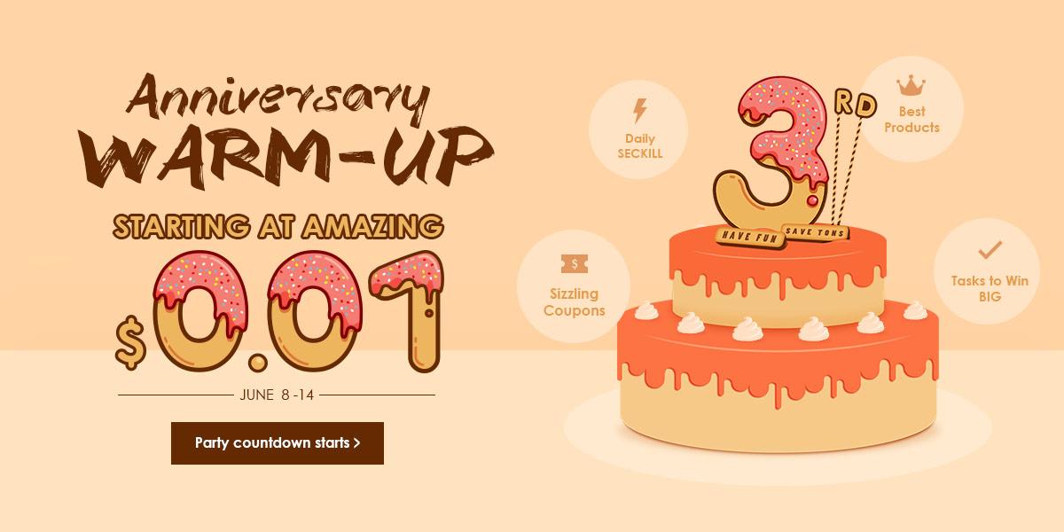 Zaful 3rd Anniversary