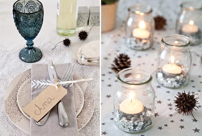 Deco mesas Fiestas de Navidad