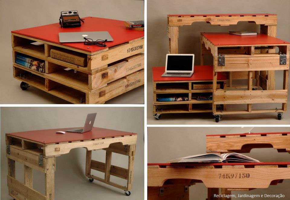 El detalle que hace la diferencia palet mania for Como hacer mesa de trabajo con palets