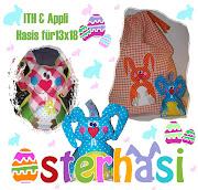 ♥Osterhasi Set 13x18