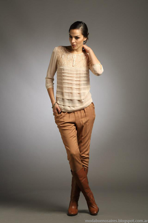 Blusas invierno 2013 moda.