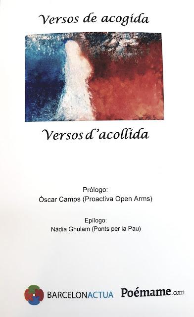 """CONCURSO POESÍA """"BARCELONA ACTÚA"""" - MENCIÓN ESPECIAL - MAYO 2018"""