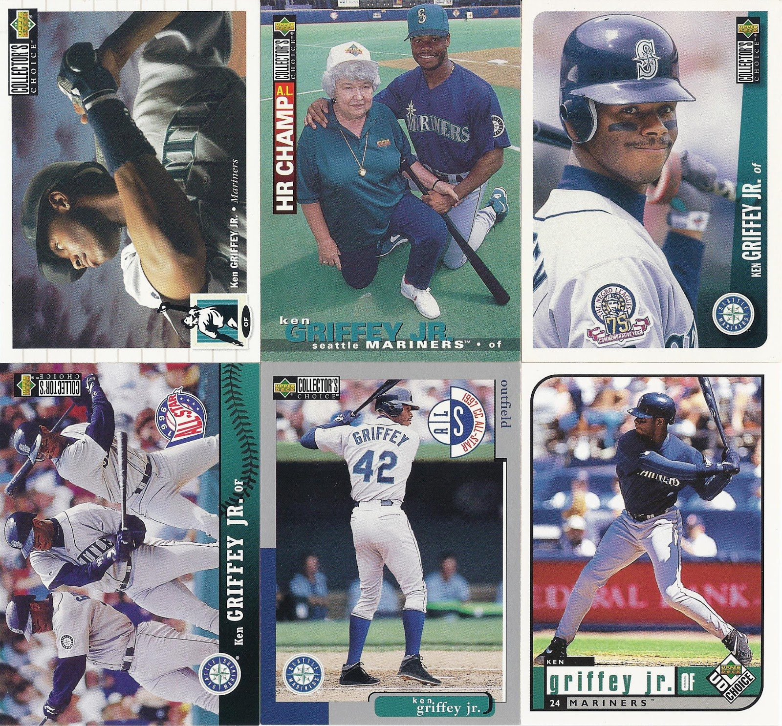 the junior junkie the baseball cards of ken griffey jr and
