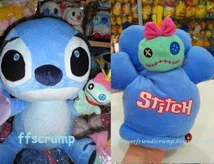 HK Trendyland Beanie Scrump w Stitch hand Plush