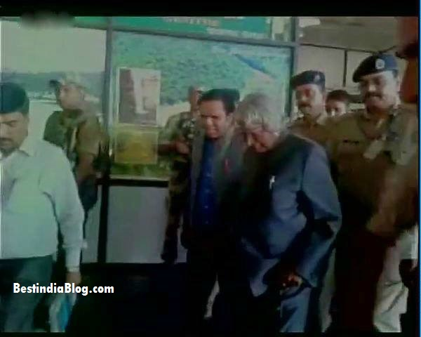 Abdul Kalam Last Photos, Died Body Photo