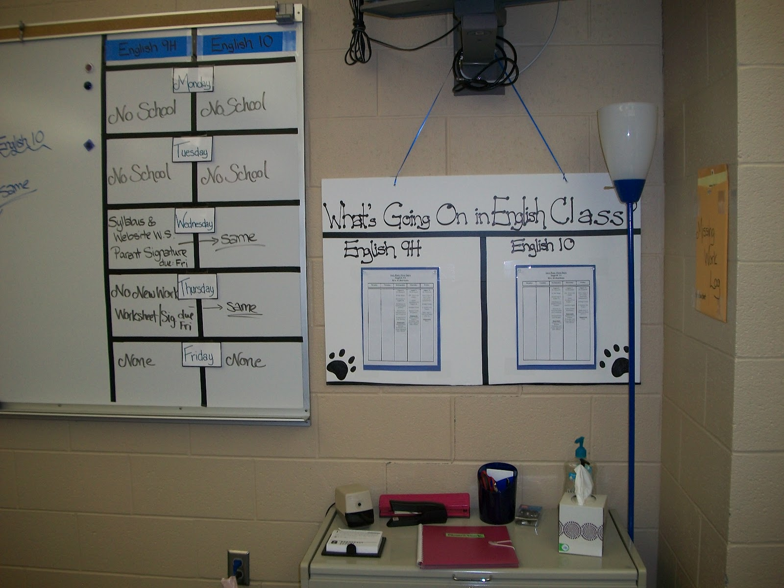 Classroom Organization Ideas High School ~ Eat write teach back to school for the high