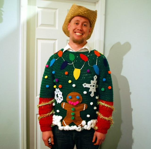 Christmas Jumper Party: Crafty Texas Girls: Party Planning: Tacky Christmas Sweater