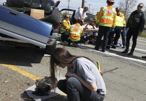 Redding Car Accident April