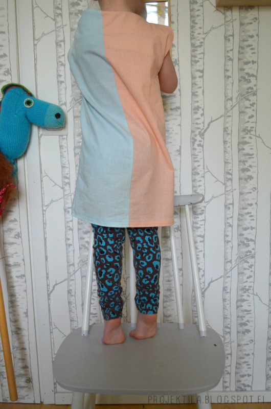 Projektila diy lasten mekko