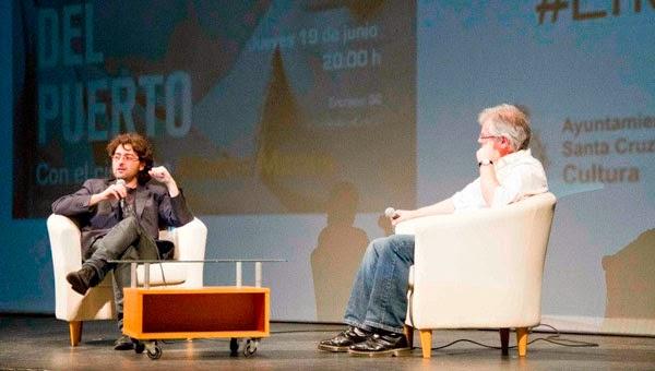 Alberto Morais en 'Los encuentros con el cine' de Santa Cruz de Tenerife